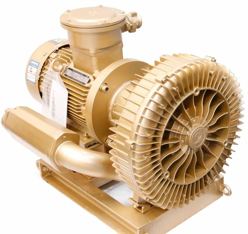 Customized High Pressure Ring Blower 11KW , Side Channel Vacuum Pump