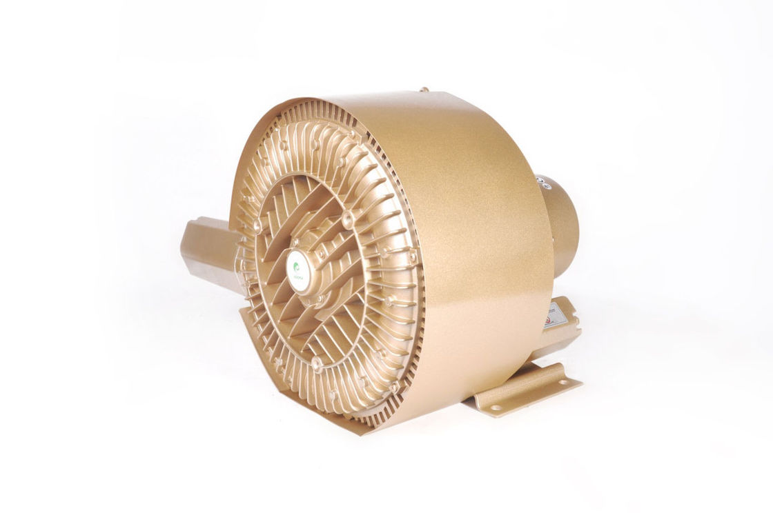 IE3 Motor 11kw 15HP Goorui Side Channel Blower For Cental Vacuum System